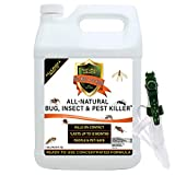 Natural Bug, Insect & Pest Killer & Control Including Fleas, Ticks, Ants, Spiders, Bed Bugs, Dust...