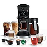 Ninja CFP301 DualBrew Pro Specialty 12-Cup Drip Maker with Glass Carafe, Single-Serve for Coffee...