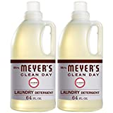 Mrs. Meyer's Clean Day Liquid Laundry Detergent, Cruelty Free and Biodegradable Formula, Lavender...