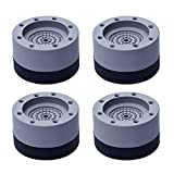 FENLDY Washer and Dryer Pedestals Machine Anti Vibration Damping Isolation Foot Pads 4 PCS Stacked...