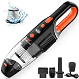 ZesGood Handheld Vacuum Cordless, 7000PA Powerful Suction with Rechargeable Hand Held Vacuum Cleaner...