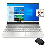 HP 15.6' FHD Slim and Light Laptop for Business and Student, AMD Athlon Silver 3050U, 8GB RAM, 1TB...