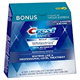 Crest 3D White Professional Effects Whitestrips 20 Treatments + Crest 3D White 1 Hour Express...