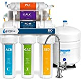 Express Water Reverse Osmosis Alkaline Water Filtration System – 10 Stage RO Water Filter with...