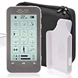 TENS Unit and EMS Combination Muscle Stimulator with 2 Channels, 12 Modes for Pain Management for...