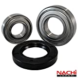 Front Load Bearings Washer Tub Bearing and Seal Kit with Nachi bearings, Fits Kenmore and Electrolux...