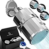 AquaHomeGroup Shower Filter Head - High Pressure Luxury Filtered 15 Stage For Hard Water Vitamin C +...