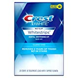 Crest 3D White Whitestrips Classic Vivid Teeth Whitening Kit ( Packaging May Vary ) , 20 Count (Pack...