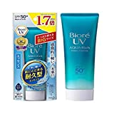 BIORE UV Aqua Rich Watery Essence SPF50 85g -That gives you longer lasting UV protection with its...