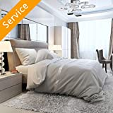 Bed Assembly - Platform or Sleigh Bed