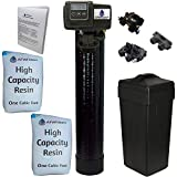 Whole House Water Softener System - Fleck 5600sxt Digital Meter with 64,000 Grain - includes bypass...