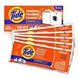Washing Machine Cleaner by Tide, Washer Machine Cleaner Tablets for Front and Top Loader Machines, 5...