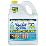 Simple Green Oxy Solve Deck and Fence Pressure Washer Cleaner, Colorless to Pale Straw, Unscented,...