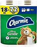 Charmin Ultra Gentle Toilet Paper, 6 Count (Pack of 3) = 18 Mega Roll Total
