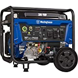 Westinghouse WGen7500 Portable Generator with Remote Electric Start - 7500 Rated Watts & 9500 Peak...