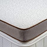 BedStory 3 Inch Memory Foam Mattress Topper, Cooling Gel Infused Toppers for Bed, Premium Mattress...