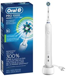 Oral B White Pro electric toothbrush