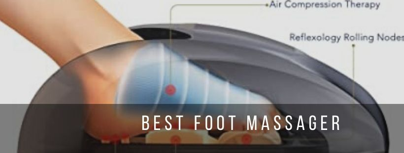 Miko foot massager with shiatsu and kneading