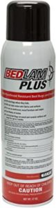 Bedlam spray for bed bugs