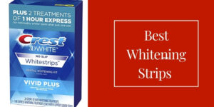 top whitening strips for shiny teeth